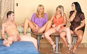 XXX Reverse Gangbang Pictures